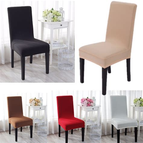 Fabric To Cover Dining Room Chair Seats by Jacquard Fabric Solid Color Stretch Chair Seat