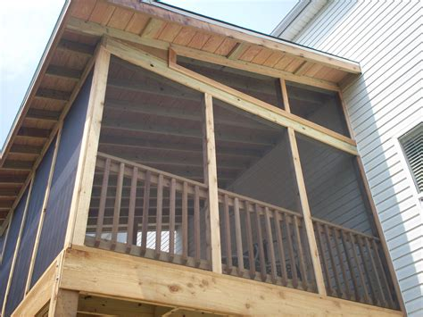 shed roof screened porch st louis screened porches your backyard is a blank