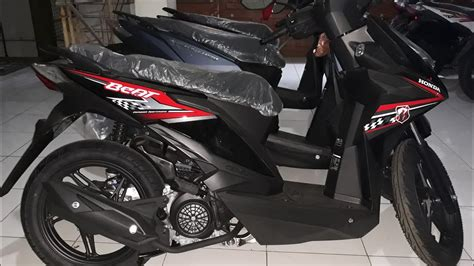 Beat Sporty Cw 2018 tilan baru honda beat sporty cw 2018 rock black