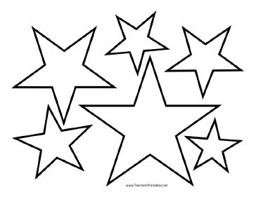 nautical star outline cliparts co