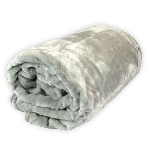 bed blankets large soft luxury mink blankets thick warm faux fur home