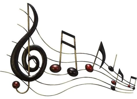 music wall decor metal wall music notes musical sound bar traditional artwork by modern furniture warehouse