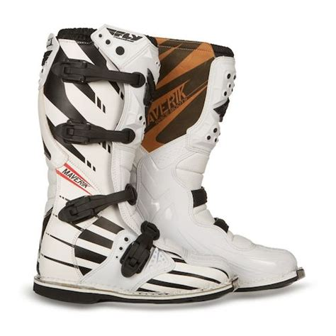 fly motocross boots fly racing maverik mx f4 boots revzilla