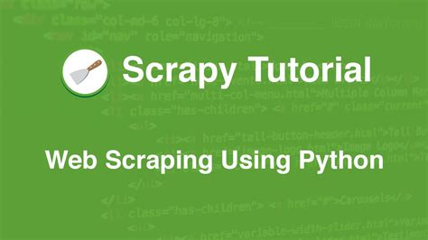 Tutorial On Web Scraping | scrapy tutorial series web scraping using python