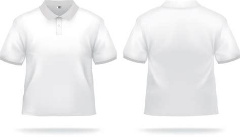 Baju Kaos T Shirt Go Food By Gojek Simple Keren white t shirts template vector set 04 vector free