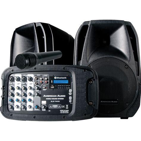 Speaker B Q 10 By Vln Audio american audio els pa10 portable pa system els pa10 b h photo