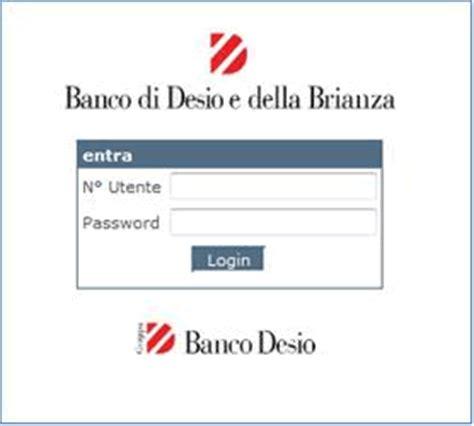 home banking banco desio tentativo di phishing banco desio sito corporate