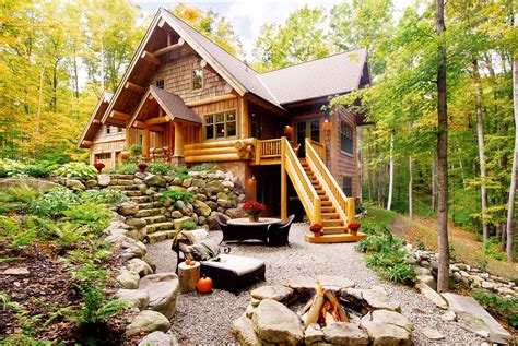 Handcrafted Log Home Builders - timber wolf handcrafted log homes northern michigan