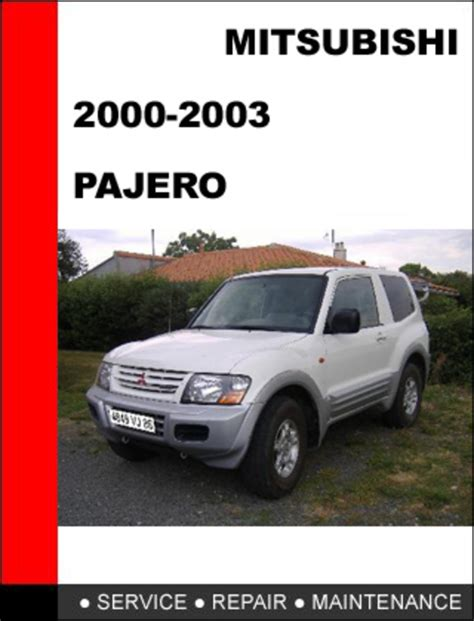 car repair manuals online pdf 2000 mitsubishi pajero spare parts catalogs mitsubishi pajero service repair manual download pdf autos post