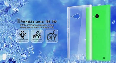 Anti Gores Nokia Lumia 730 Dual by Imak 2 Ultra Thin For Nokia Lumia 730