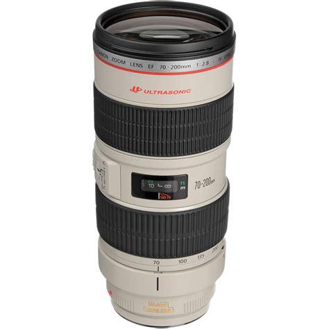 Canon Ef 70 200mm F 2 8l Is Ii Usm Ds canon ef 70 200mm f 2 8l is usm telephoto zoom lens b h photo