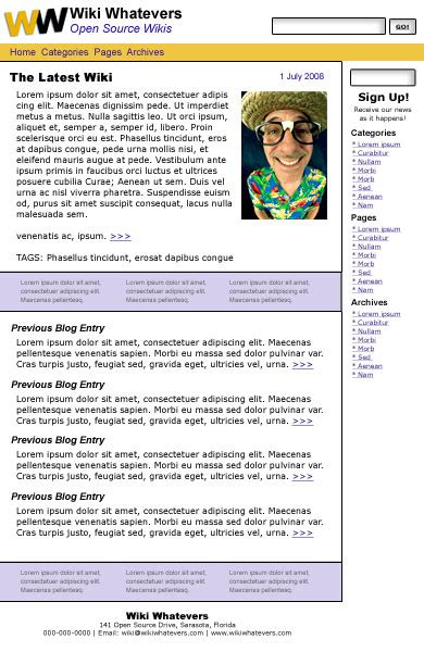 layout inspection wikipedia colour schemes and design mockups w3c wiki