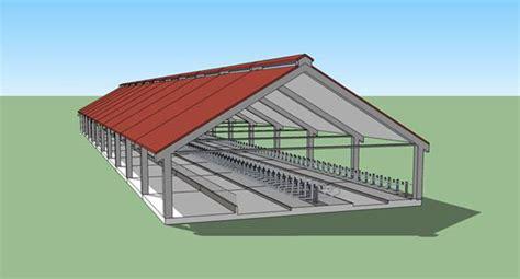 costruire un capannone come costruire un sistema stalla e non un capannone