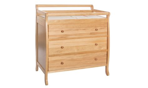 Pecan Changing Table On Me Liberty Collection 3 Drawer Changing Table Groupon