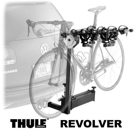thule swing away bike rack thule revolver 964 swing away hitch mount bike rack