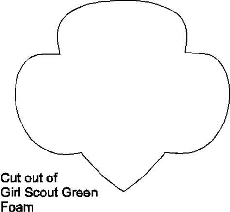 scout trefoil template trefoil pattern makingfriendsmakingfriends