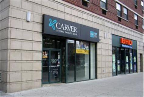 carver bank n y s last black founded bank carver federal tries to