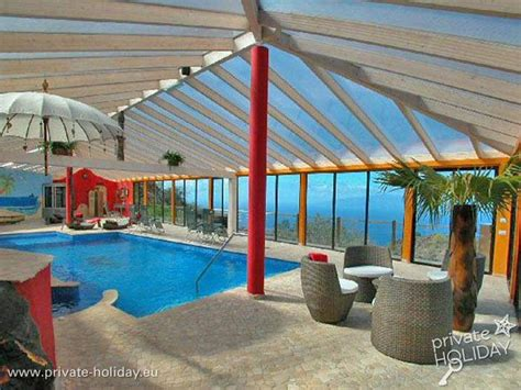 teneriffa haus mit pool haus auf einer luxus finca mit beheizten swimmingpool