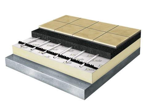 module floorheating underfloor packs for screed floor joule