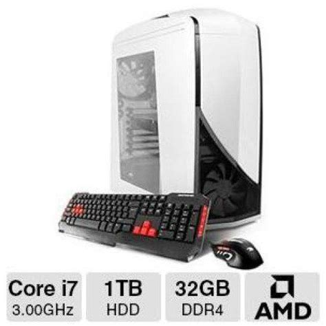 cyber monday desk sale best ibuypower td787xlc gaming desktop computer for cyber