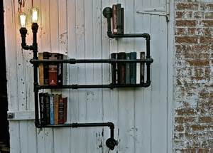 pipe shelves diy how to upcycle pipes into industrial diy shelves and