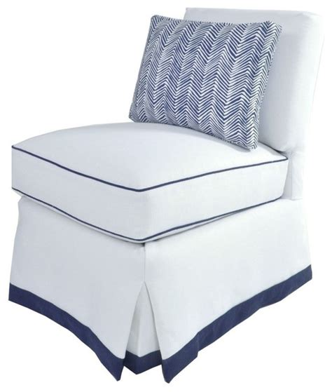 White Slipper Chair by Slipper Chair Upholstered Contemporary Armchairs And