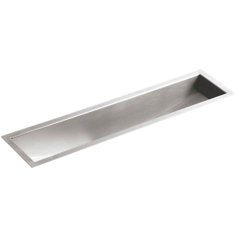 kohler undertone undermount stainless steel 33 in single