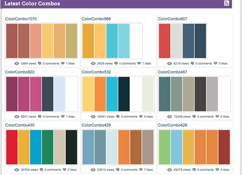 color combination in color color combinations a site for color nerds