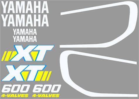 Xt 600 Aufkleber Yamaha Logos by Decal Kit For The Yamaha Xt600