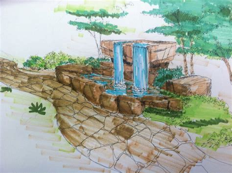 building a backyard waterfall backyard waterfall design neptune panels blog