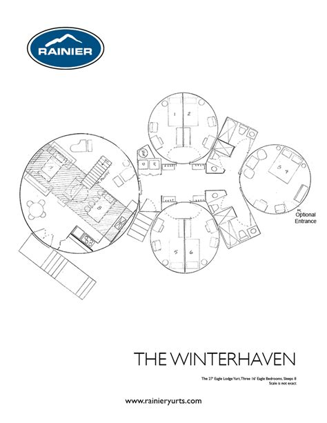 yurt floor plan yurt floor plans rainier yurts