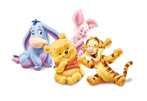 imagenes de winnie pooh y tigger bebes bebes disney para imprimir