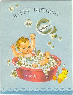 Baby Happy Birthday Card Happy Birthday Wishes With Babies