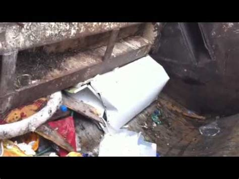 Compactor Wow Com   wow unreal must see rubbish compactor 3 youtube