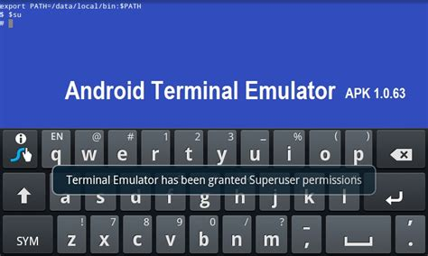 terminal emulator for android apk free android terminal emulator apk 1 0 63
