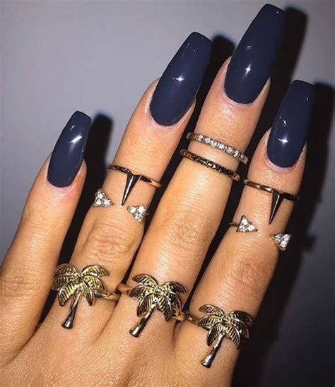 skin color nails the 25 best navy nails ideas on navy nail