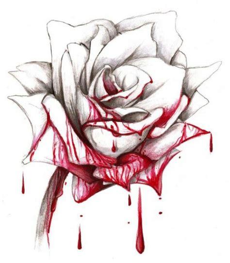 bleeding hand holding rose www pixshark com images