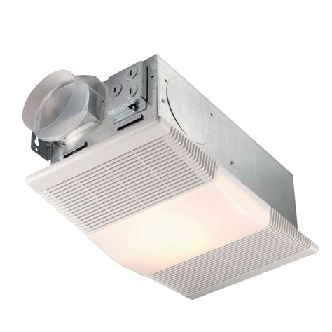 70 Cfm Ventilation Fan With Heater And Light Un 665rp Bathroom Vent Light Heater