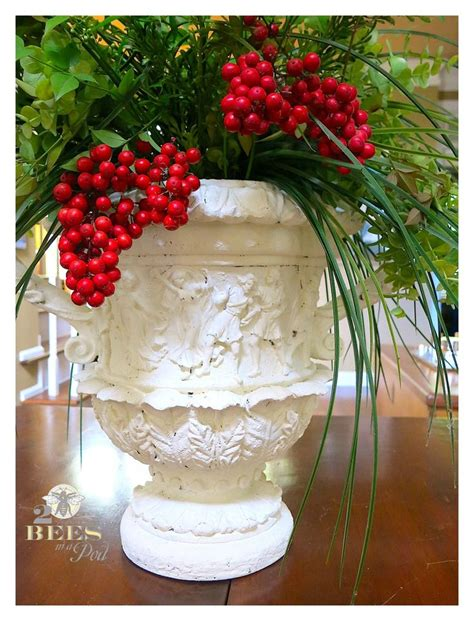 diy chalk paint vases diy chalk painted urn plaster plastic and vase