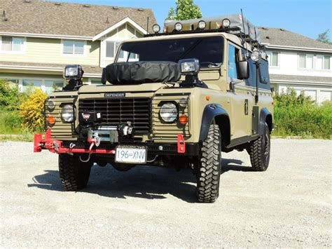 land rover 110 overland 1990 land rover defender 110 expedition overland