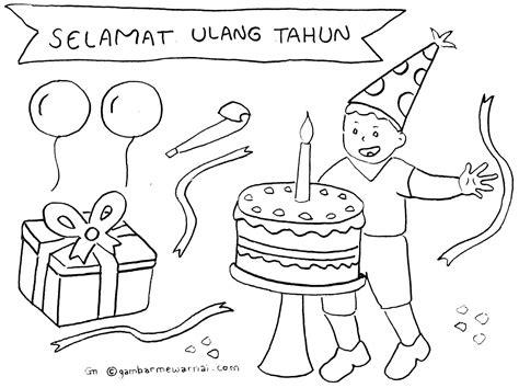 mewarnai gambar anak anak contoh kartu undangan ulang tahun background ulang tahun joy studio design gallery best