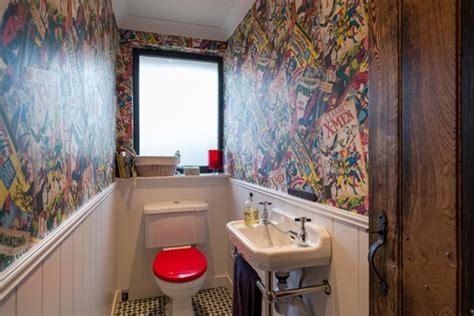 comic book bathroom decor bam pow cool comic book decor for your home