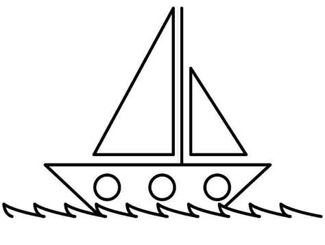 boat pictures for kindergarten transportation boat coloring pages printable for