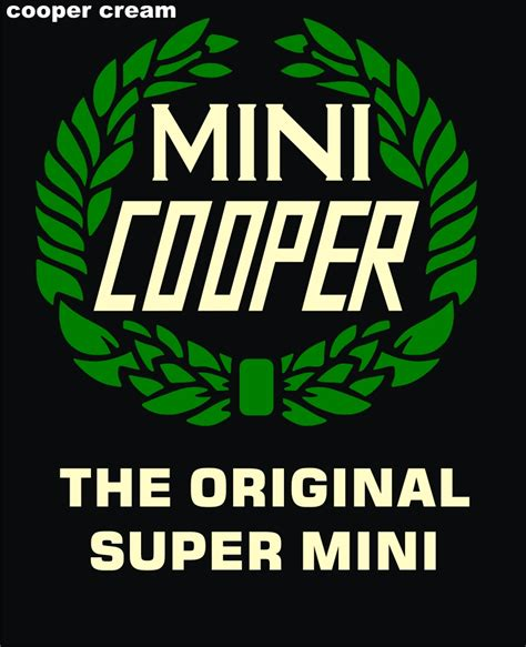 logo mini cooper two tone design