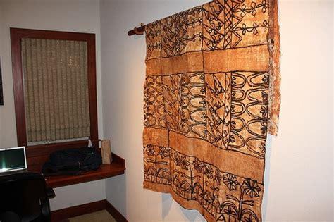 samoan home decor hawaiian tapa cloth wall hanging home improvement