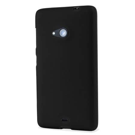 Microsoft Lumia 535 Black flexishield microsoft lumia 535 black mobilezap