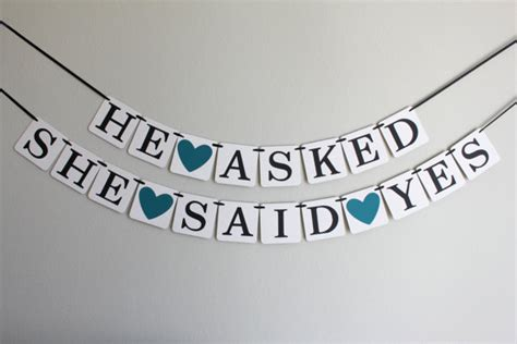 Personalised Engagement Decorations by Engagement Decorations Bridal Shower Banner Bridal