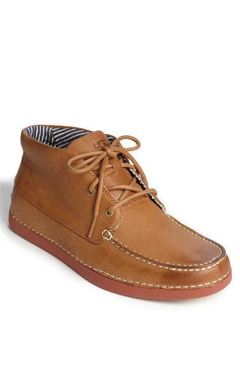 mens ugg chukka boots ugg kaldwell chukka boot in brown for chestnut lyst
