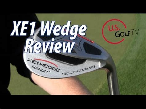 Wedges Channel Chanel Slop xe1 wedge review as seen on the golf channel