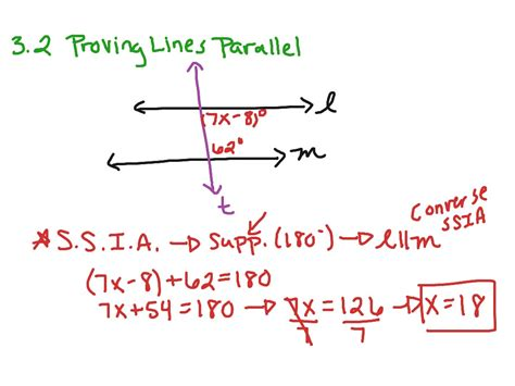 Proving Lines Parallel Worksheet Answers by Proving Parallel Lines Worksheet Worksheets